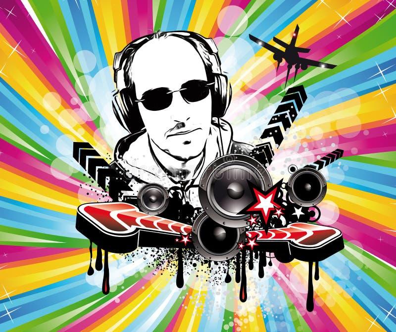 Download Background For Musical Event Flyer Stock Vector - Illustration: 16039529
