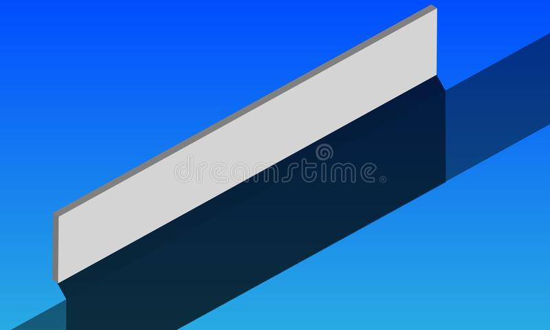 Background for the name of the logo royalty free illustration