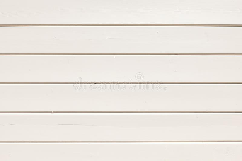 Background of neat boards painted with white paint stock photography