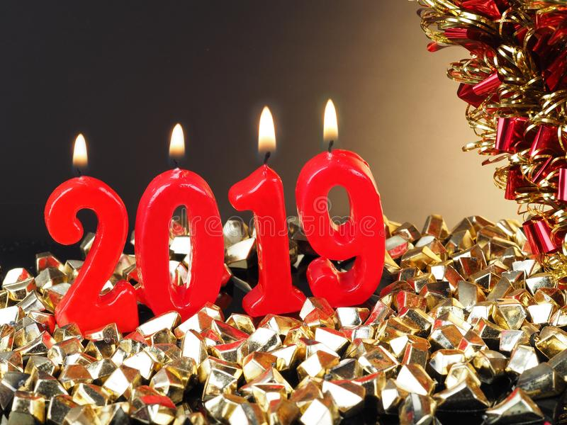 New Years Eve 2019 stock photo