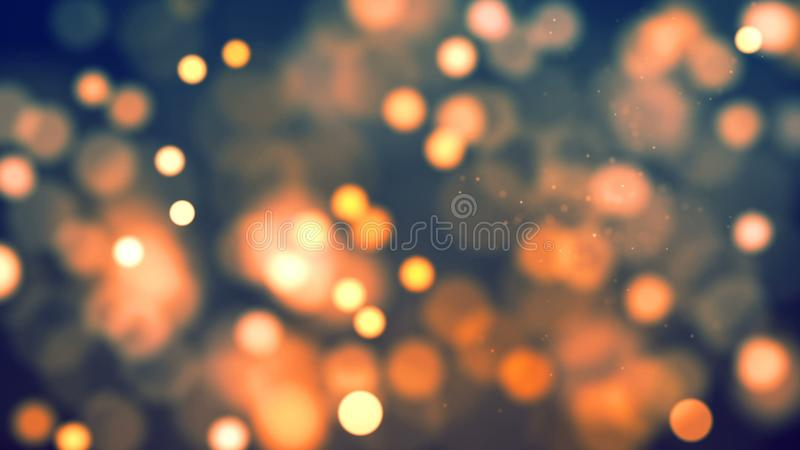 Background with nice orange bokeh. Abstract Background with nice orange bokeh stock images