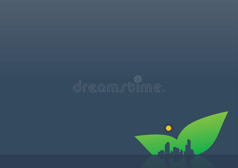 Background Night Leaf City stock images