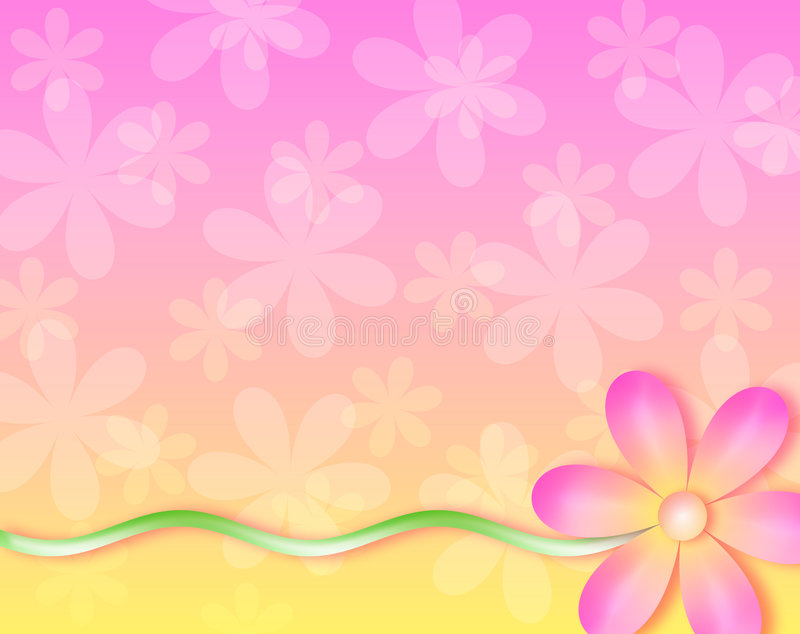 Download Background - No Wall Flower Stock Illustration - Image: 22346