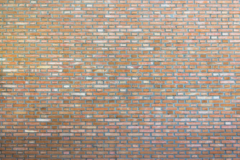 Background of old brick wall pattern texture. stock photography