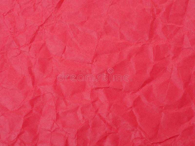 Old crumpled colored parchment paper. royalty free stock images