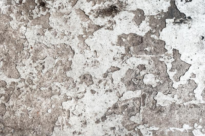 Background from old dirty floor with peeling paint. Background from old gray dirty floor with peeling paint stock image