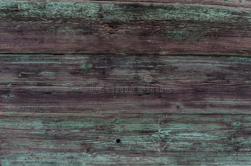 Background of old green wood boards royalty free stock image