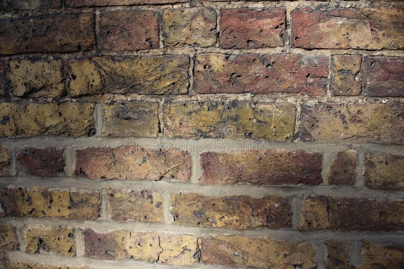 Background of old vintage brick wall stock images