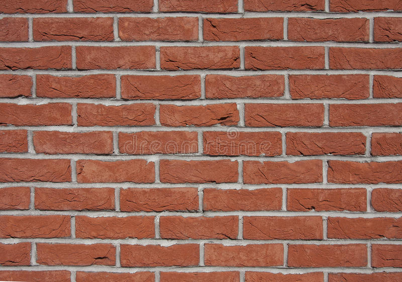 Background of old vintage brick wall. royalty free stock photos