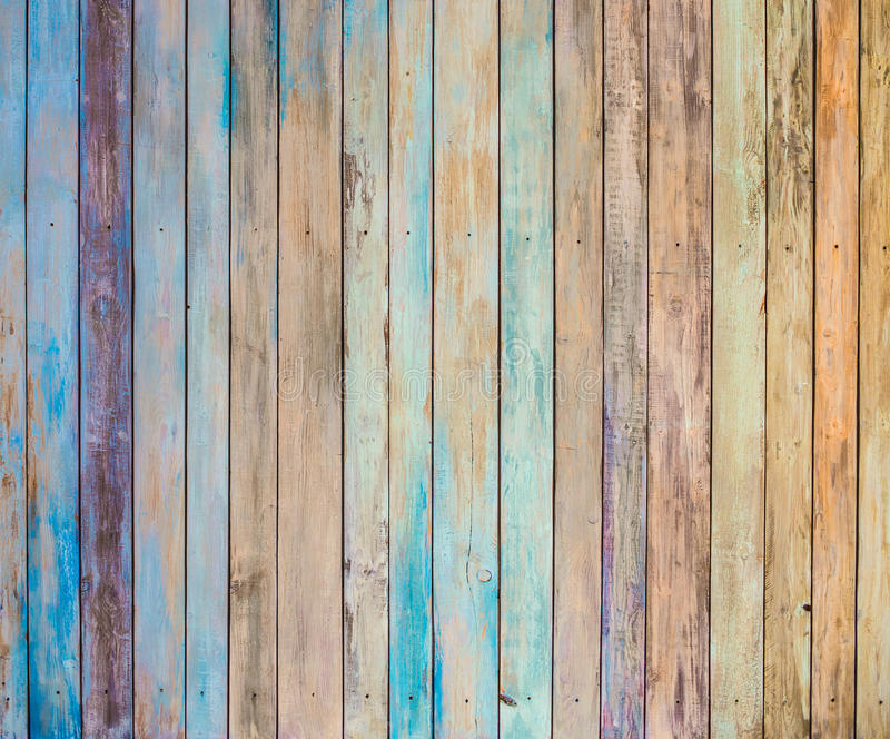 Background of old wood plank stock photo