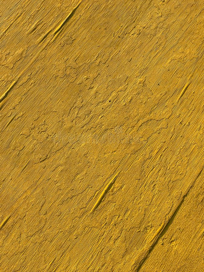 Background of old yellowish plywood surface board. royalty free stock photos