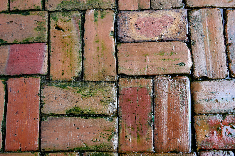 Download Background Of Oldclay Bricks Stock Photo - Image: 1220836