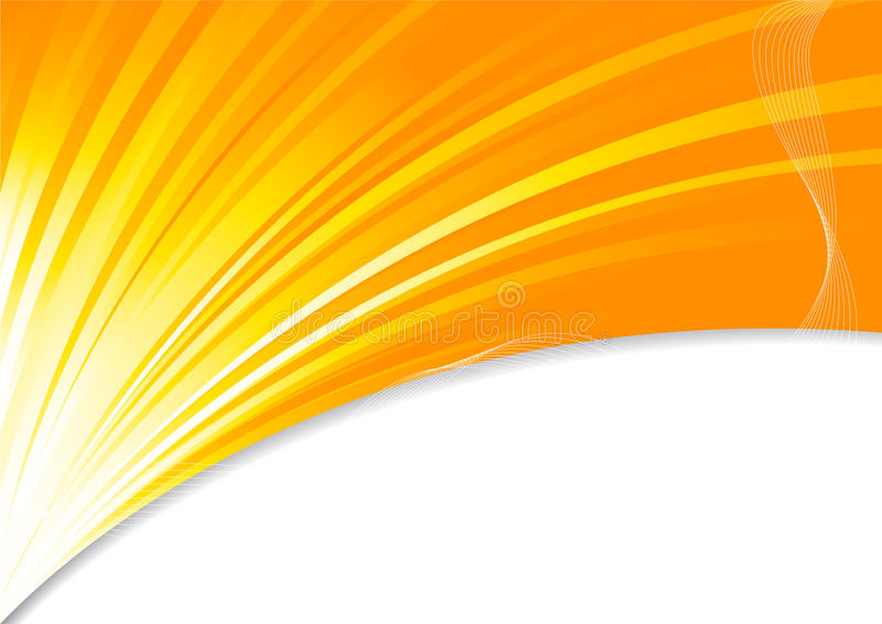 Background In Orange Color Royalty Free Stock Photo