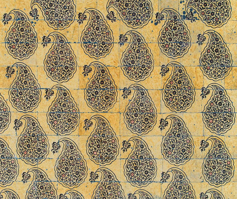 Download Background With Oriental Ornaments Royalty Free Stock Photography - Image: 5542257