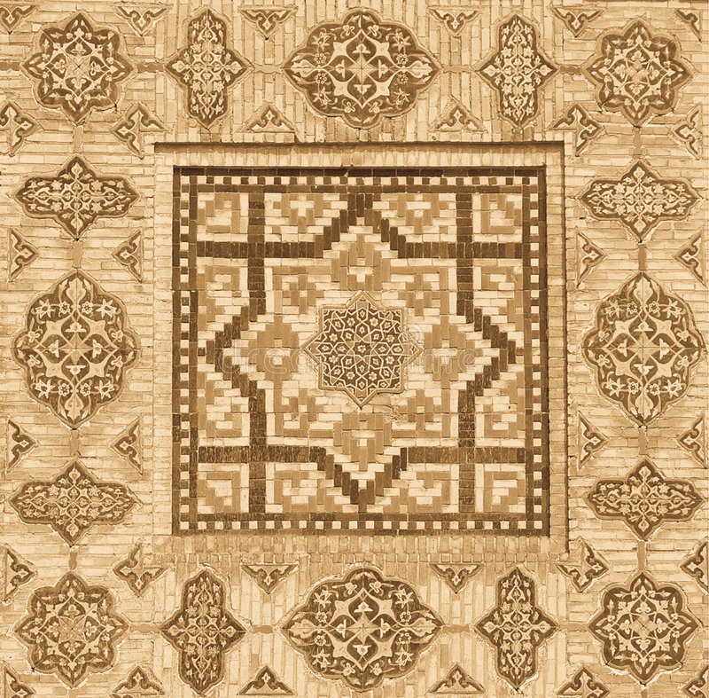Download Background With Oriental Ornaments Stock Illustration - Image: 6104554