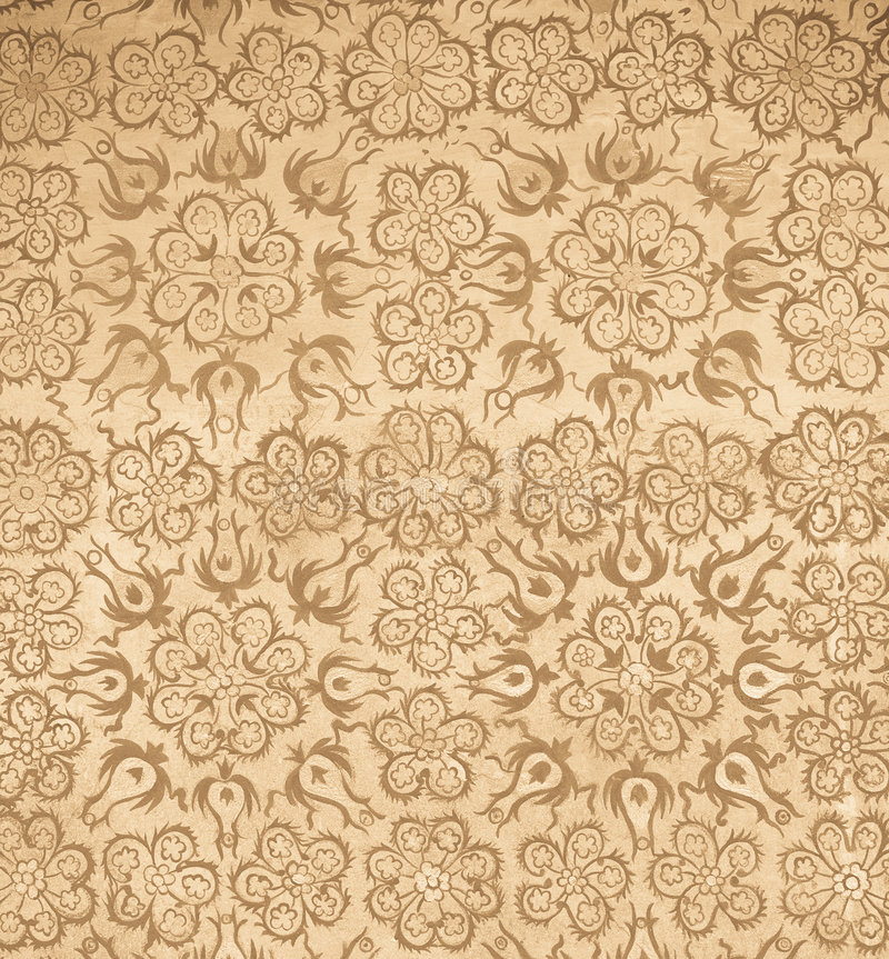 Background with oriental ornaments. Highly detailed background with oriental decorated ornaments stock photography