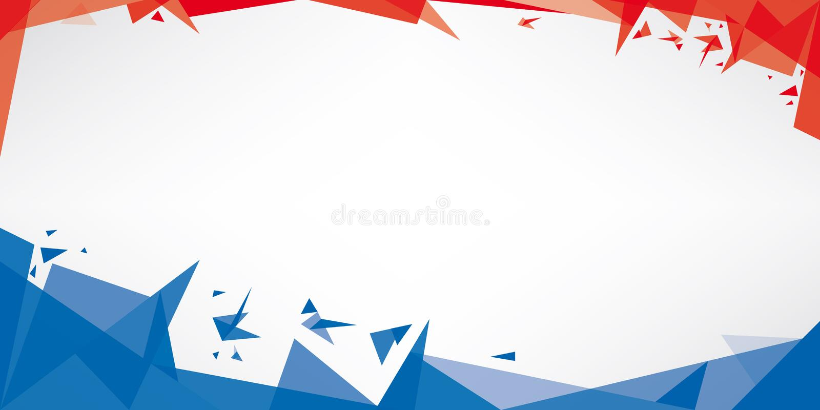 Download Background Origami Of France Stock Illustration