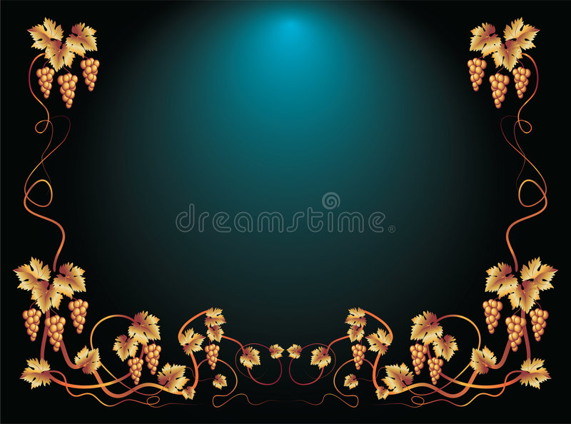 Download Background with ornament stock vector. Image of caption - 9226787