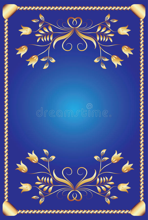 Background with ornament. For various design artwork vector illustration