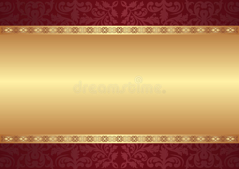 Background with ornaments royalty free illustration