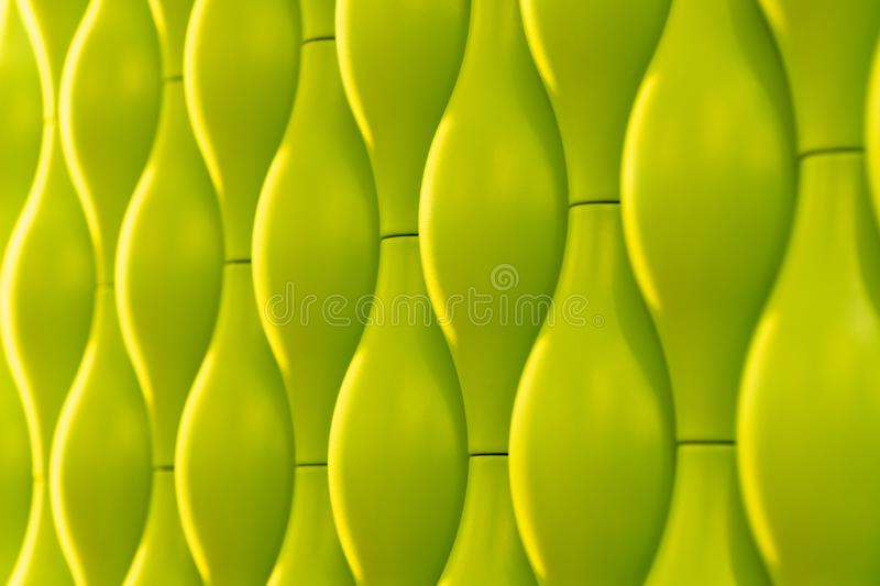 Background of oval mosaic tiles. Mosaic floor in natural style vector illustration