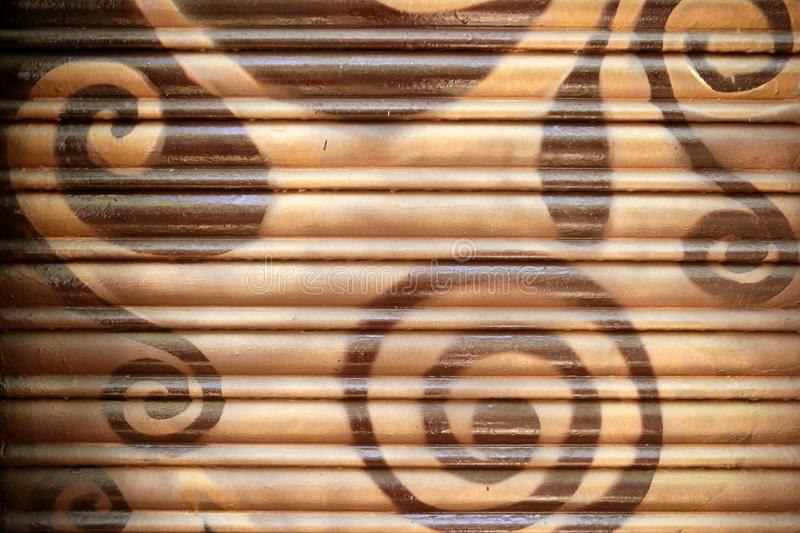 Background Painted Metal Blinds Texture Royalty Free Stock Photography