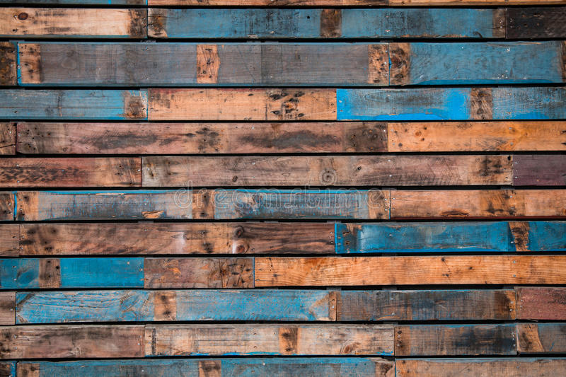 Background of painted wooden planks royalty free stock photo