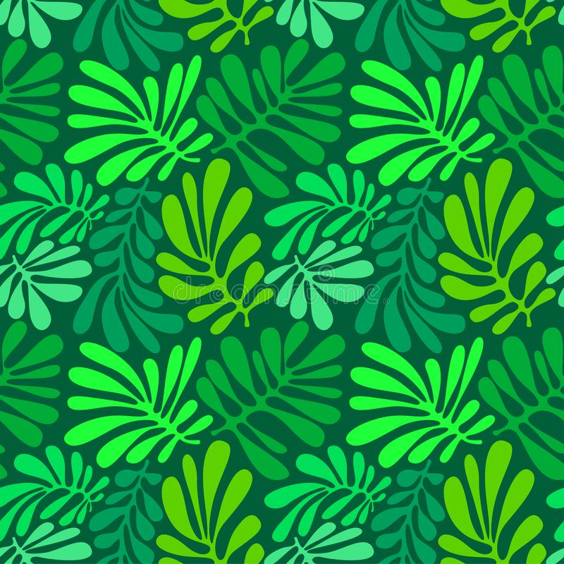 Download Background With Palm Leaves. Tropical Seamless Pattern With Mons Stock Vector - Illustration of print, rainforest: 116735794
