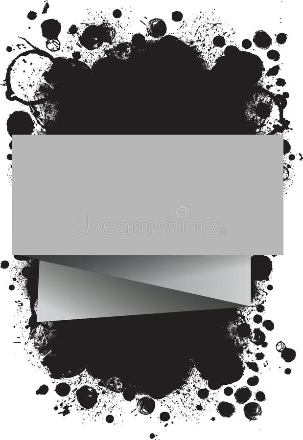 Background With Paper And Spots Royalty Free Stock Photos