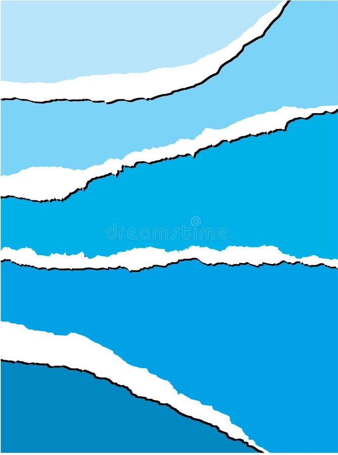 background paper tear διανυσματική απεικόνιση