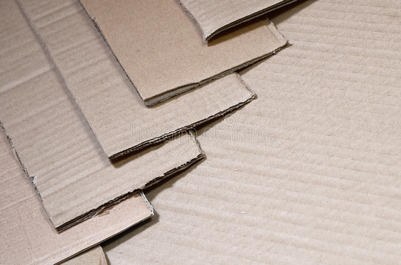 Background of paper textures piled ready to recycle. A pack of old office cardboard for recycling of waste paper. Pile of. Wastepaper stock images