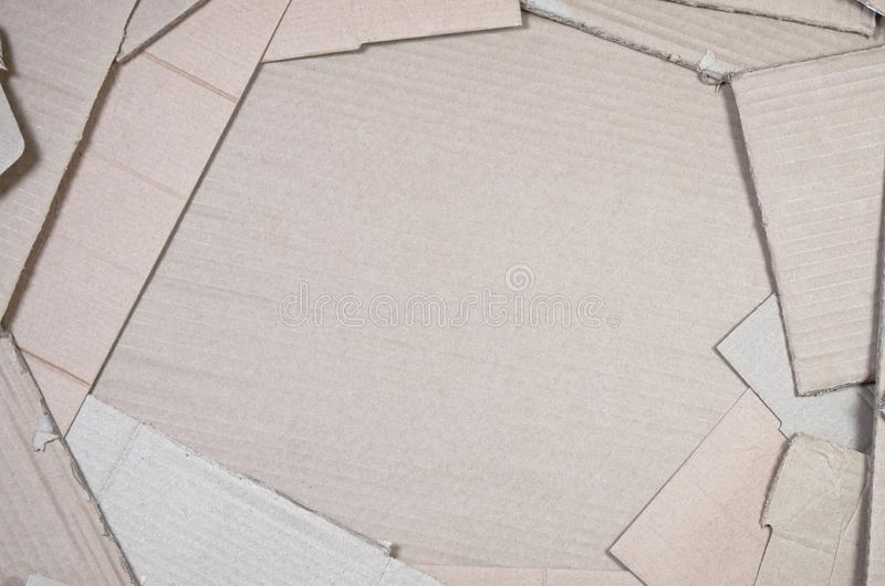Background of paper textures piled ready to recycle. A pack of old office cardboard for recycling of waste paper. Pile of. Wastepaper royalty free stock image
