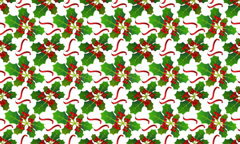 Background with pattern allusive to christmas theme. Seamless pattern. Illustration. royalty free stock image