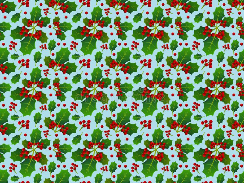 Background with pattern allusive to christmas theme. Seamless pattern. Illustration. stock photos