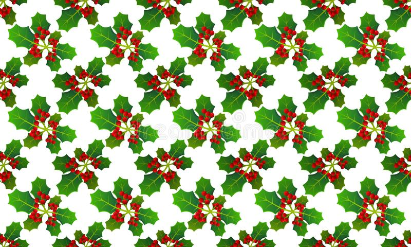 Background with pattern allusive to christmas theme. Seamless pattern. Illustration. stock photography