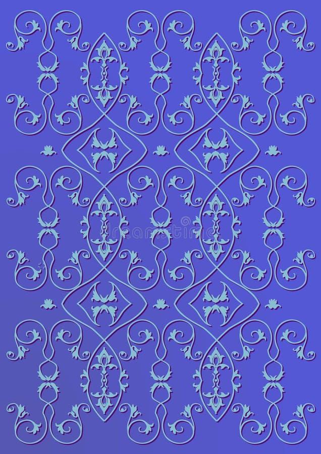 Background pattern azure
