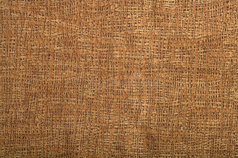 Background Pattern Of Fabric Brown Leather Stock Images