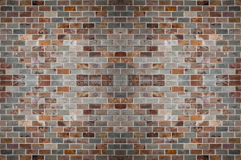 Background Pattern Stone Brick Wall Roof Grass Ornament Print Vector Ilustration Template Wallpaper stock photography