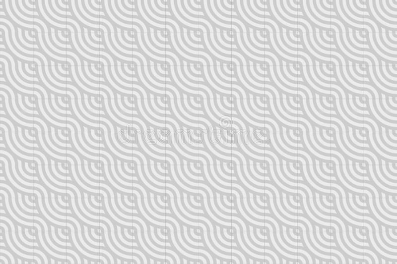 Background Pattern Tiles in white and gray.  vector illustration