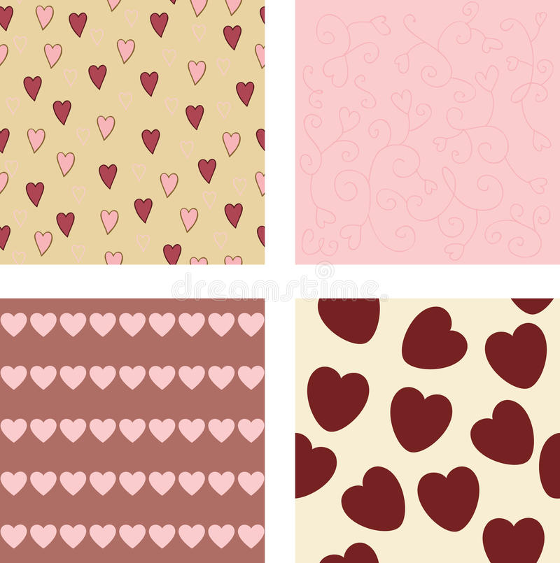 Background patterns vector illustration