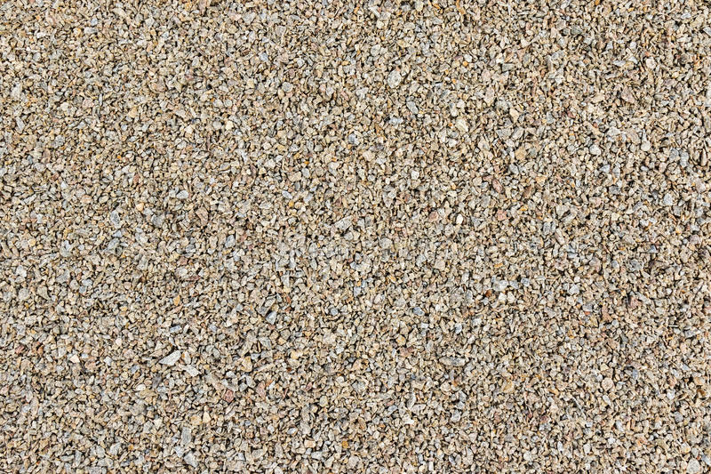 Background pea gravel. Texture of pea gravel of different factions brown horizontal orientation stock photo