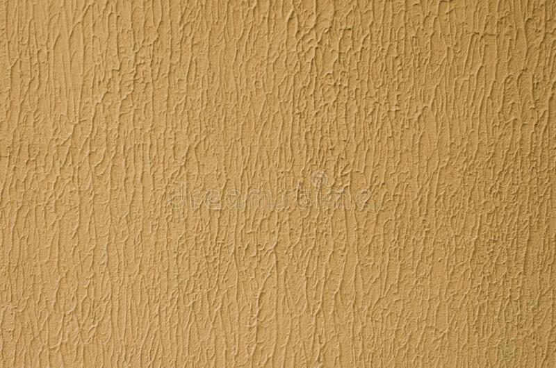 Background with peach color decorative plaster.  stock photography