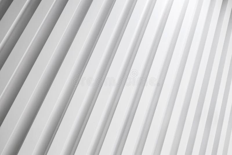 Background photo, striped white wall pattern stock image