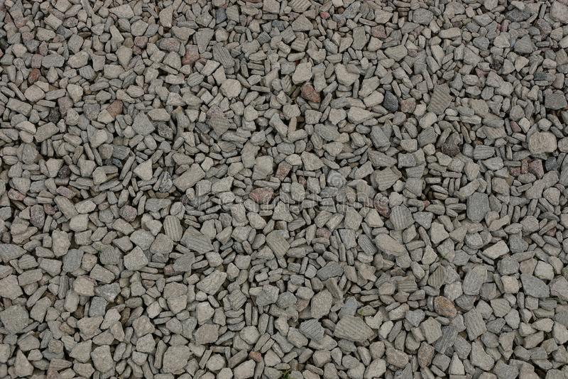 Background from a pile of stones of gray rubble. Background from a pile of small stones of gray rubble stock images