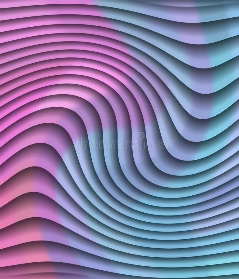 Background in pink tones. Abstract background. Illustration. Art picture. Saturated color stock illustration