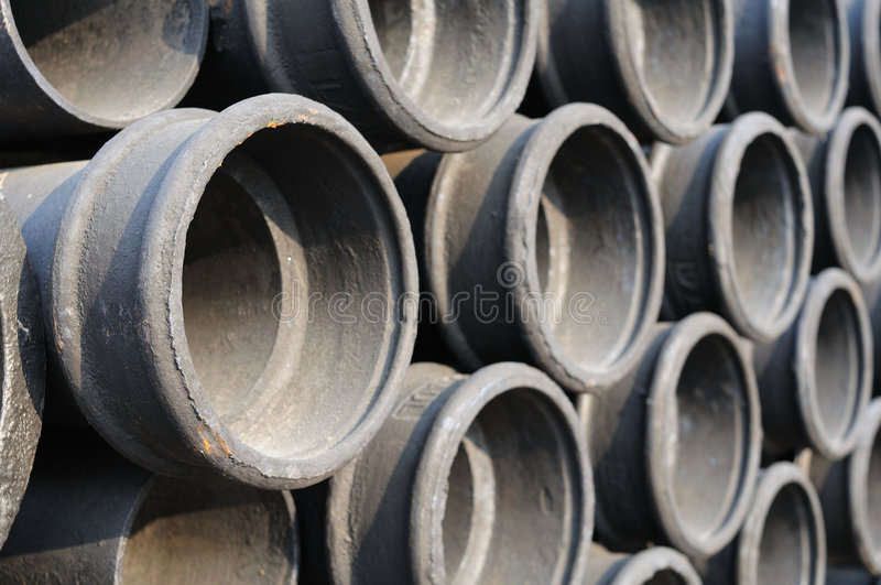 Background of pipes royalty free stock photo