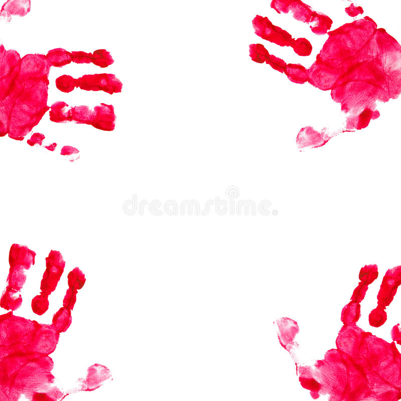 Background. Print of hand. stock photos