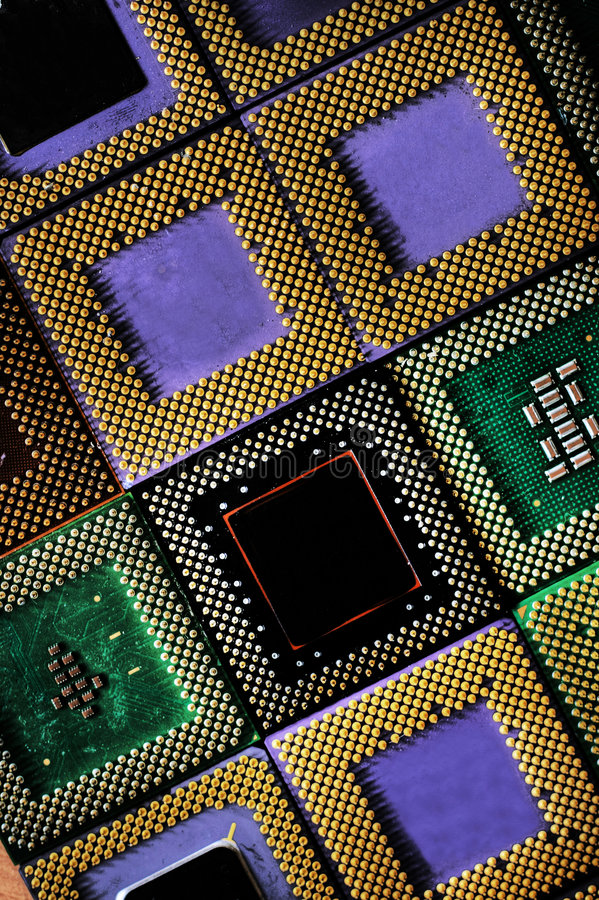 background of processors royalty free stock photography