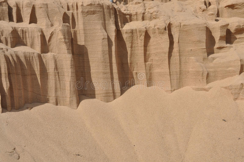 Download Background of quartz sand. stock photo. Image of waterless - 15669792