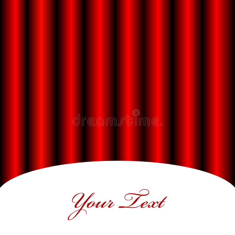 Download Background With Red Curtain Stock Vector - Illustration of classical, play: 27065021
